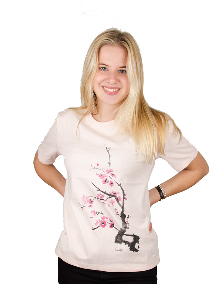 Cherry Blossom T-shirt - Heavy