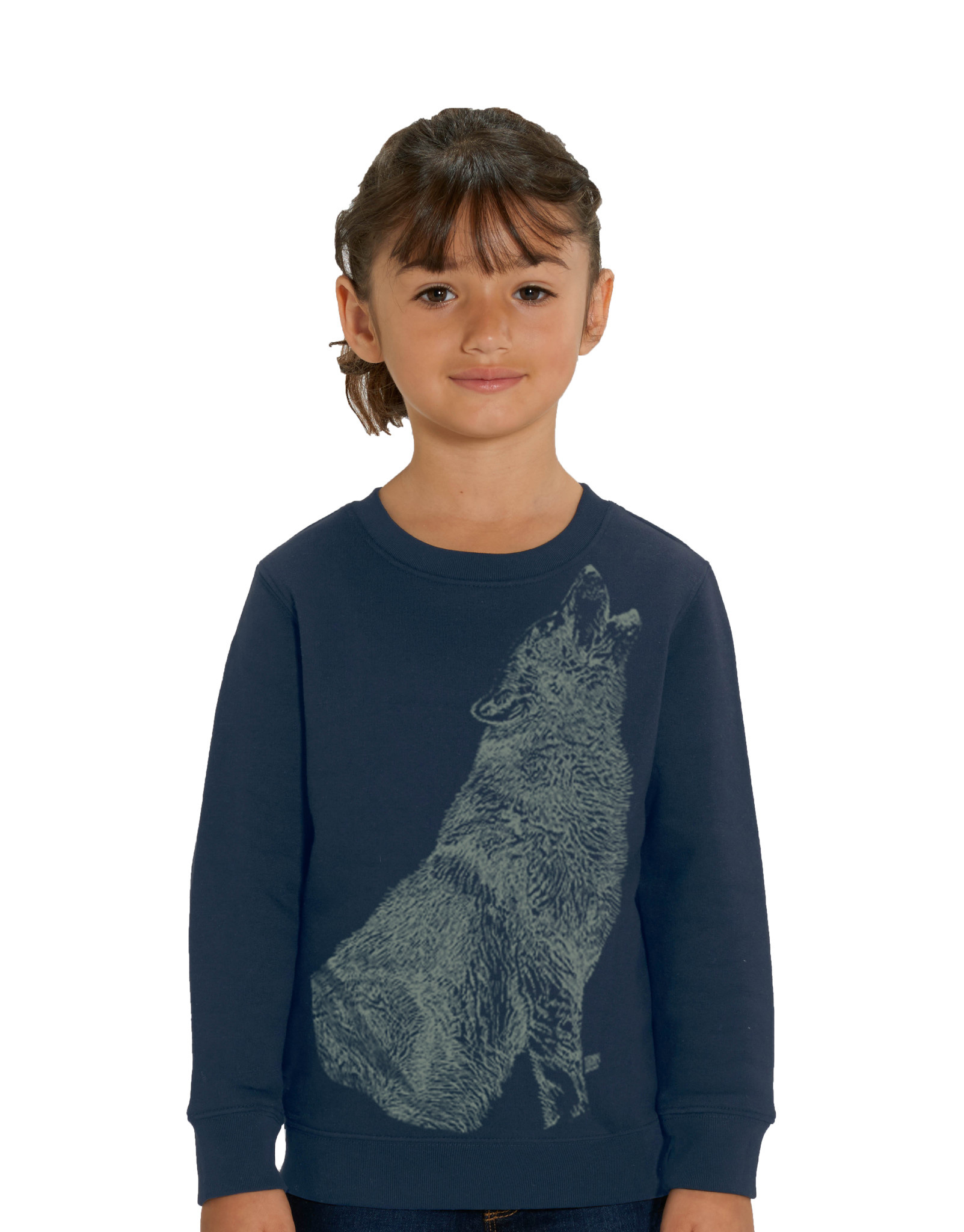 Huilende Wolf Sweater - Glow in the Dark