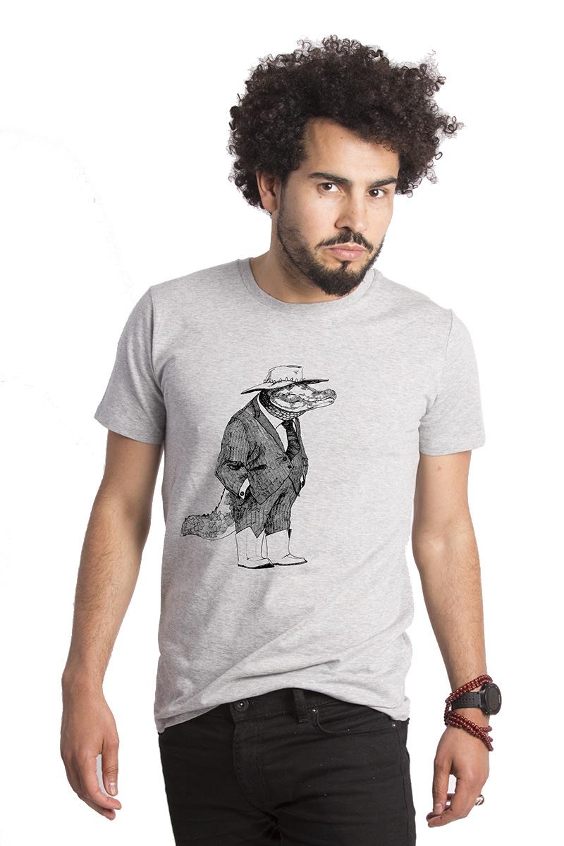 Alligator T-shirt by Lou Santos