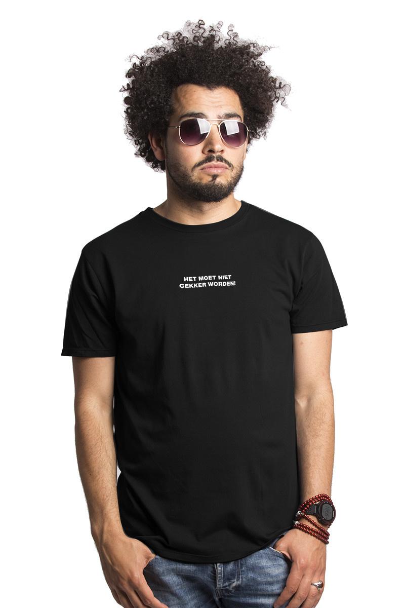 Het moet niet gekker worden T-shirt