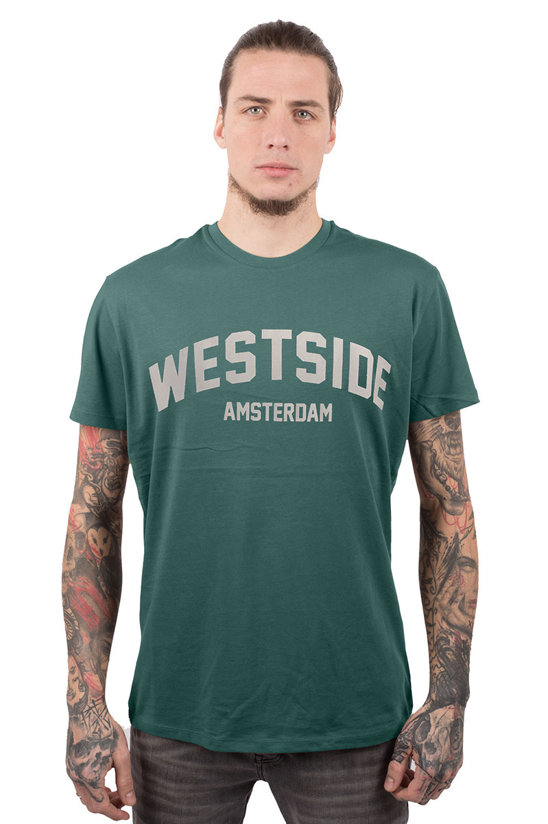 Westside T-shirt - Glazed Green