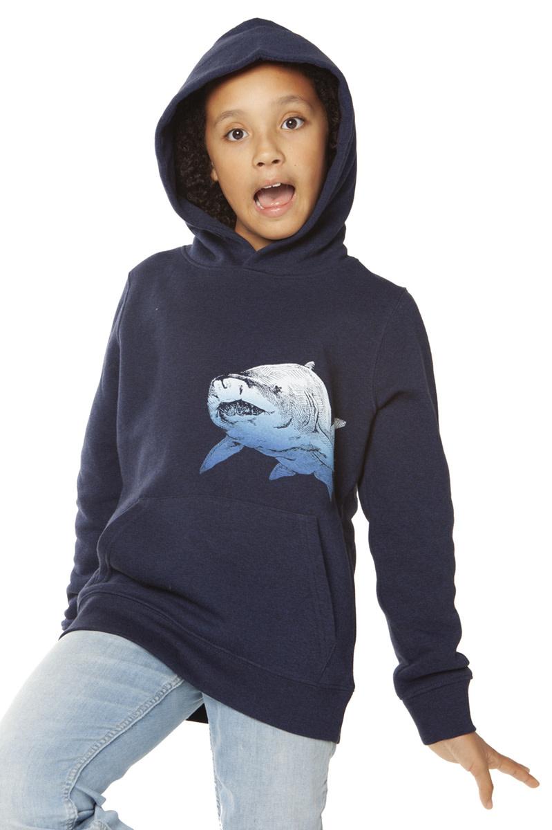 Shark Hoodie by Lou Santos