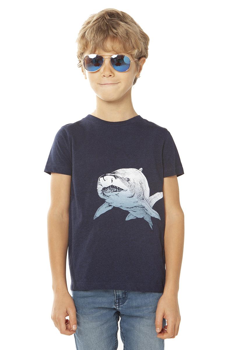 Shark T-shirt by Lou Santos