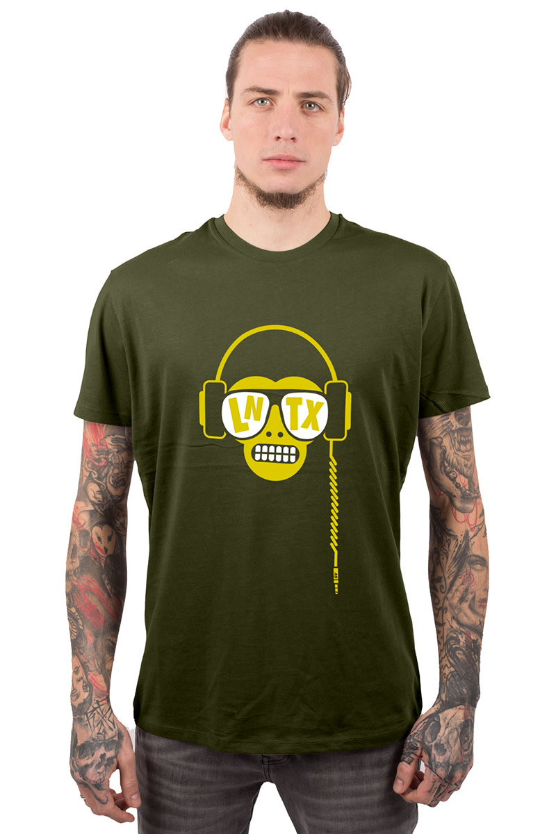 Monkey DJ T-shirt