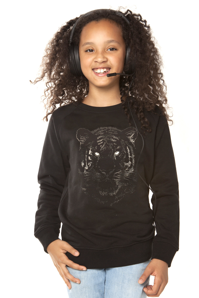 Black Tiger Sweater