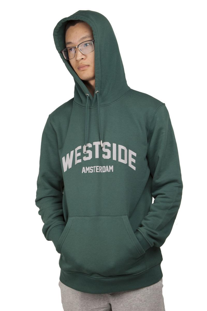 Westside Amsterdam Hoodie - Glazed Green