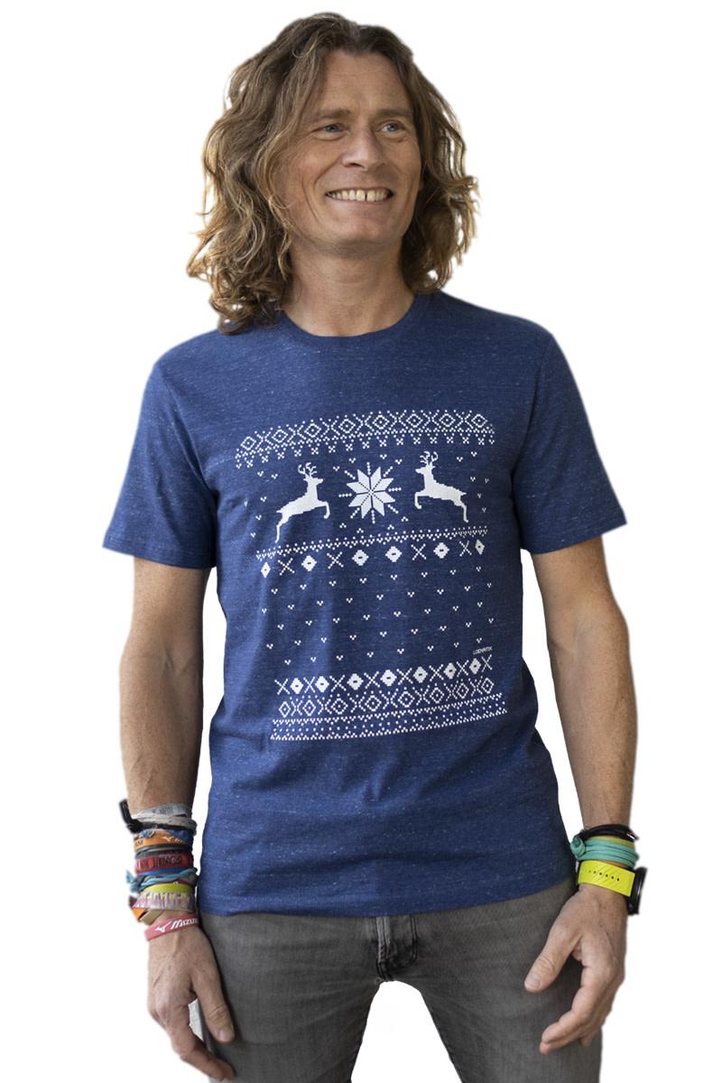 Kerst Rendier T-shirt