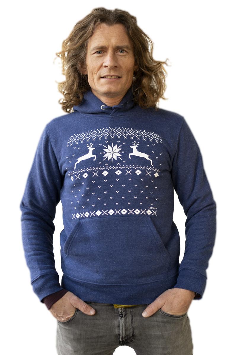 Christmas Reindeer Hooded Sweater