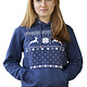 Kerst Rendier Hooded Sweater
