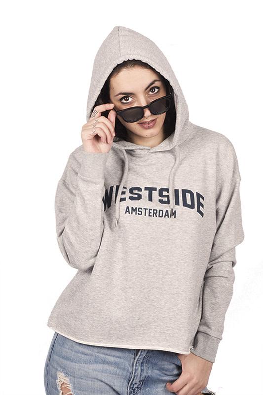 Westside Amsterdam Hoodie - Crop