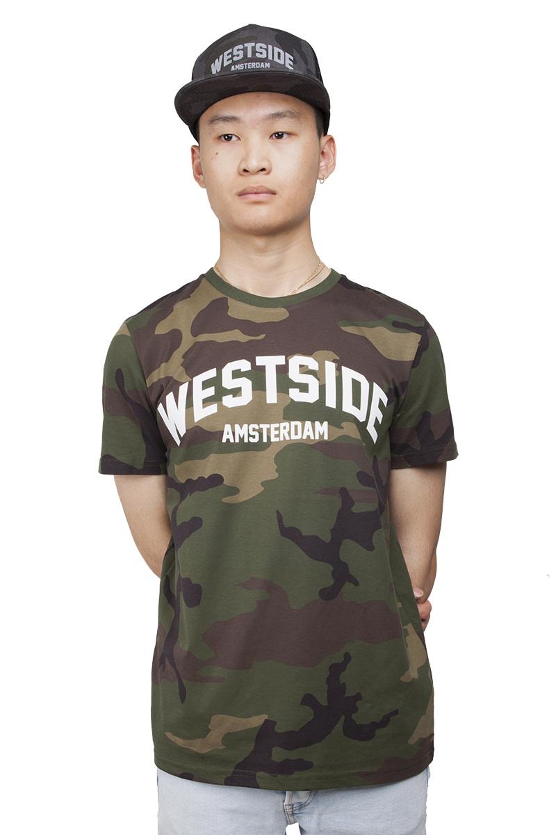 Westside Amsterdam T-shirt - Unisex - Camouflage