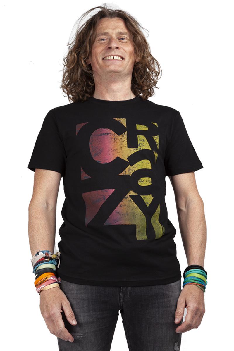 CRAZY T-shirt - Black