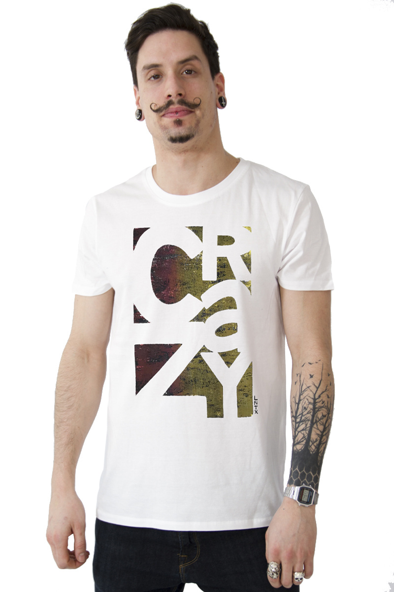 CRAZY T-shirt - White