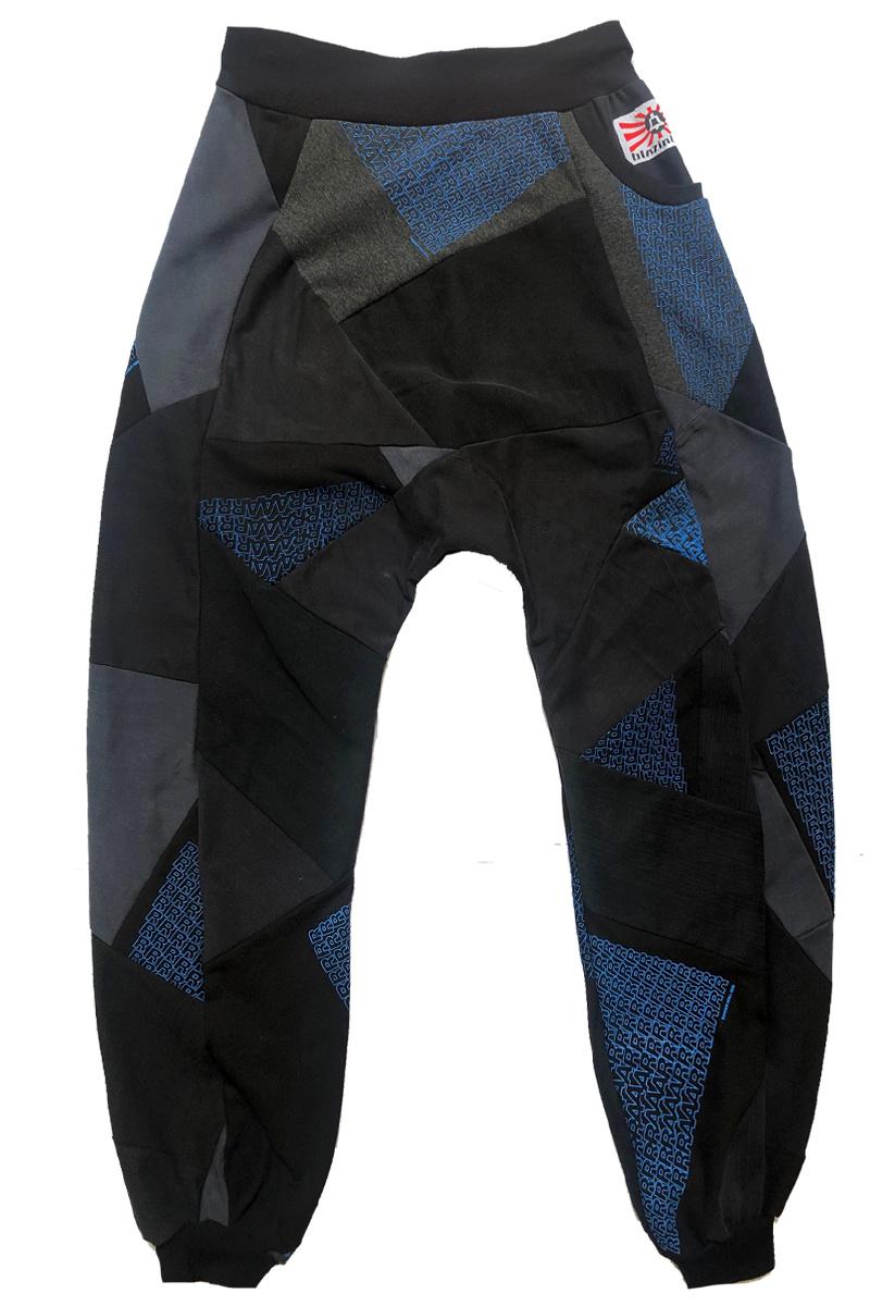 Loenatix Trackpants (One of a Kind) Nr. 4  -L- Raar Blauw/zwart