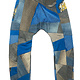Loenatix Trackpants (One of a Kind) Nr. 5  -M- Raar Blauw/grijs