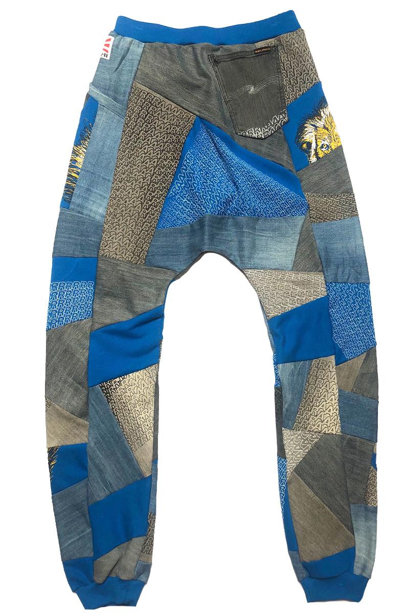 Loenatix Trackpants (One of a Kind) Nr. 5  -M- Raar Blue/grey