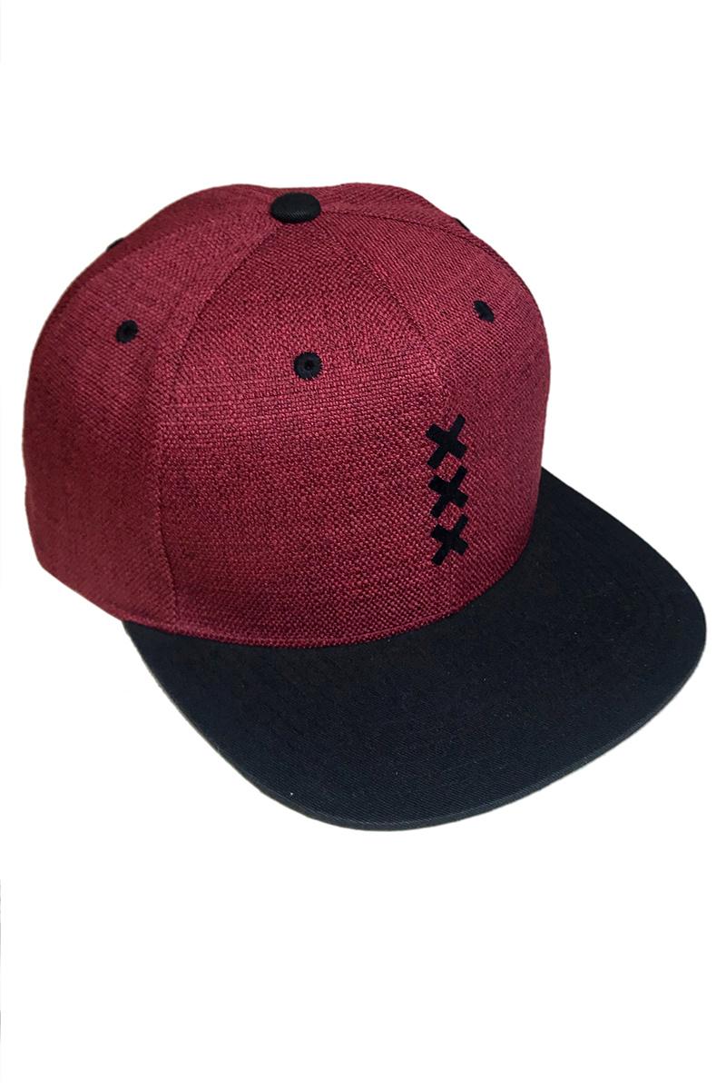 XXX Amsterdam Cap - Snapback (Melange)