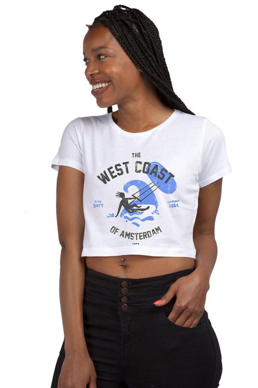 West Coast T-shirt - Crop