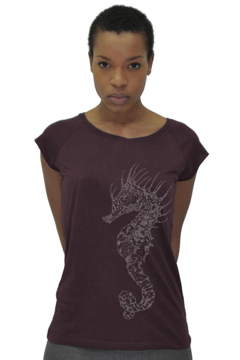 Seahorse T-shirt - Bamboo