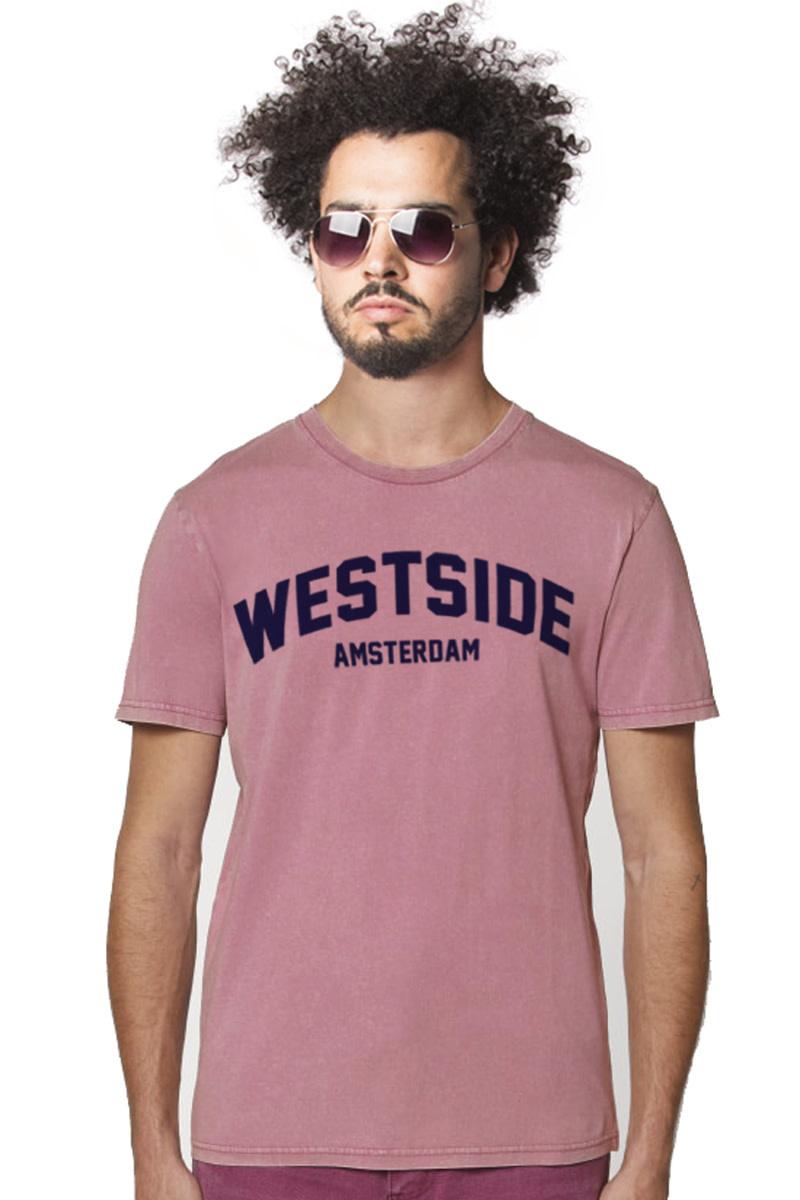 Westside Amsterdam T-shirt - Vintage pink