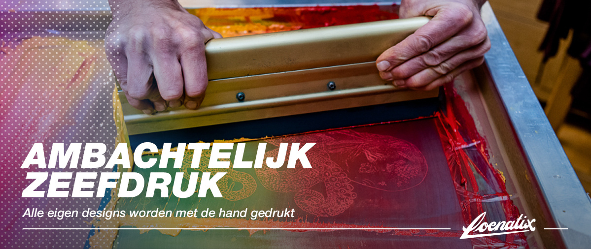 Silkscreenprinting by hand