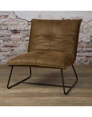 Tower Living Fauteuil Seda - grijs, groen of cognac