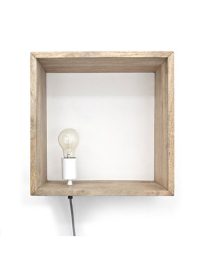 By Boo Wandlamp Light in a Box natural