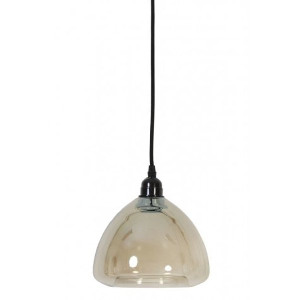 Light & Living Hanglamp Ø19,5x25 cm MILICA glas metallic