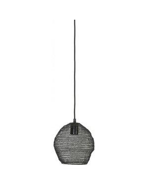 Light & Living Hanglamp Ø18x20 cm NOLA gaas glans zwart