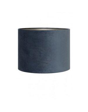 Light & Living Kap cilinder Ø30 x 21 cm VELOURS dusty blue