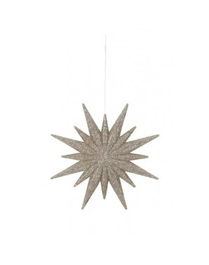 Light & Living Decoratieve hanger Ø12 cm STAR licht goud