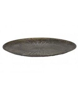 Schaal Ø40,5x4 cm HOVAG antiek brons