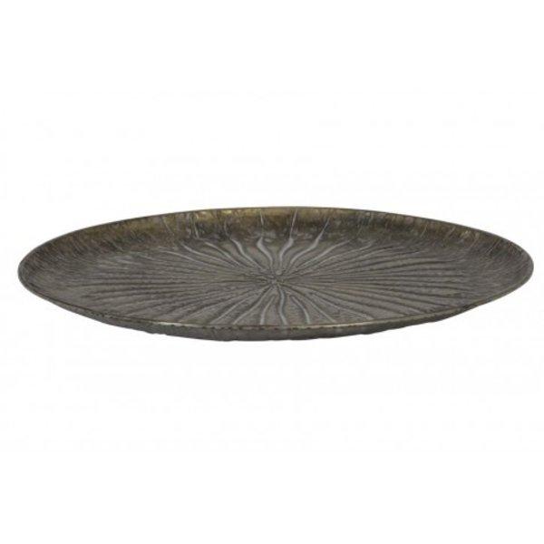 Light & Living Schaal Ø40,5x4 cm HOVAG antiek brons