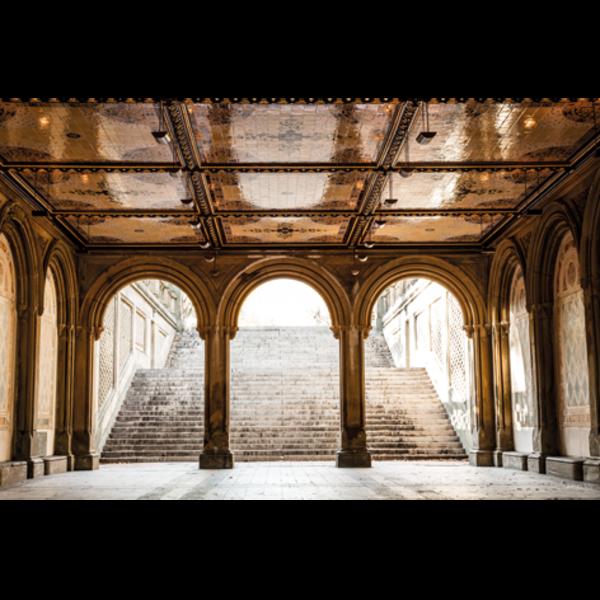 MondiArt Alu Art | Logan | Terrace Zoom, bogen en trap 120 x 180