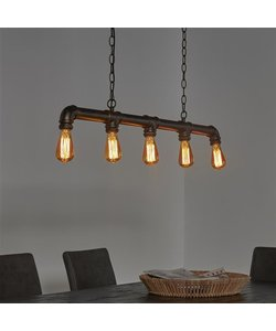 Hanglamp 5L Industrial Tube