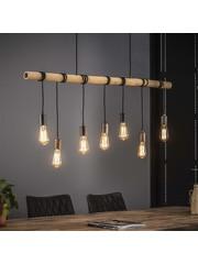 Hanglamp 7L Bamboo Wikkel