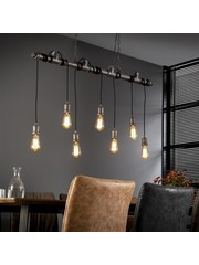 Hanglamp 7L Industrial Tube Wikkel