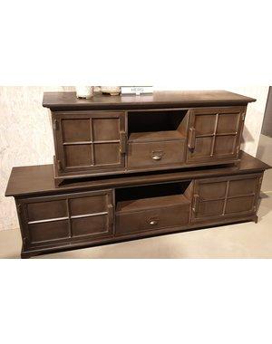 Maxfurn TV meubel Hero metaal klein * Showroommodel
