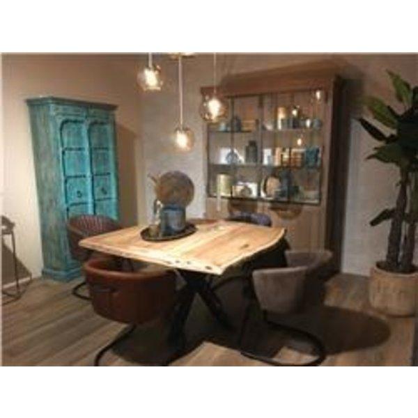 Vierkante Eettafel 150 150.Tower Living Eettafel Soria Acacia Vierkant Matrixpoot 130 Of 150 Cm
