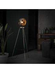 Vloerlamp beam/Oud zilver