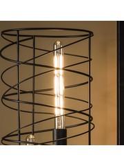 Lichtbron LED filament buis 30 cm - E27 4W 2100K 280lm dimbaar/Amberkleurig glas