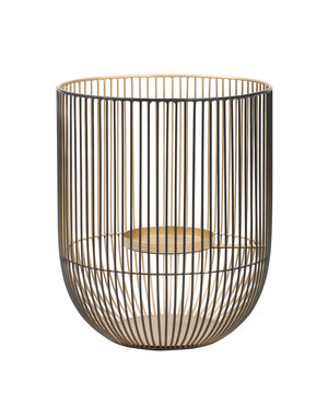 PTMD Caged light black/gold round stormlight