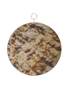 PTMD Deco chique Glass Antique mirror round  S of L
