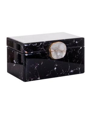 Richmond Interiors Jewellery Box Maeve black marble