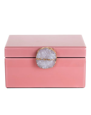 Richmond Interiors Jewellery Box Maisie pink