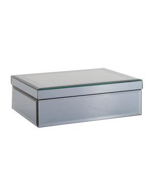 Richmond Interiors - nu 10% korting met kortingscode: Richmond * Juwelen box Blacey spiegel smoked glas