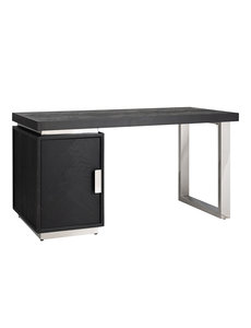 Richmond Interiors  Bureau Blackbone silver 1-deur