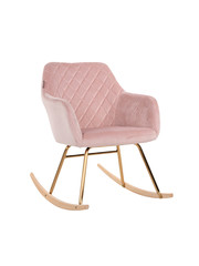 Richmond Interiors  Schommelstoel Rocky Pink Velvet