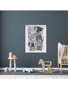 Urban Cotton Schaapjes 80x110cm