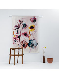 Urban Cotton Flowers in Soft Hues